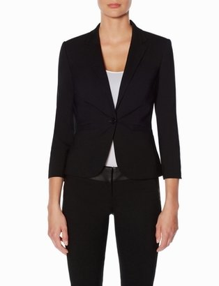 The Limited Exact Stretch One Button Jacket