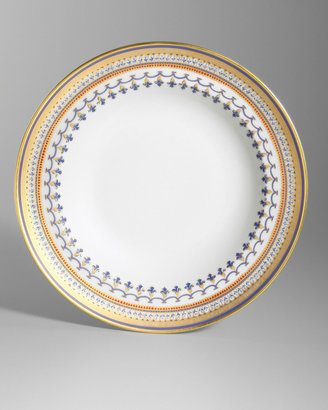 Mottahedeh Chinoise Blue Rim Soup Bowl