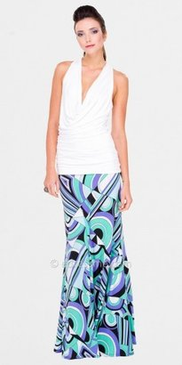 Luz Julian Chang Cowl Neck Sleeveless Tops
