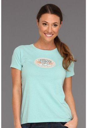 Life is Good Flops Creamy Tee (Tide Blue) - Apparel