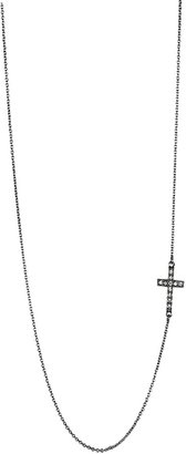 Zadig & Voltaire Necklace Cross Strass