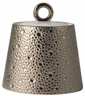 Bernardaud Ecume Platinum Covered Sugar Bowl