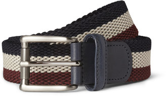 Andersons Anderson's Striped Woven Belt