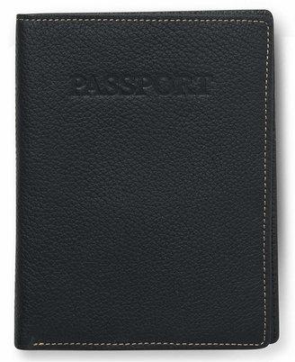 Perry Ellis Portfolio Men's Leather Passport Case