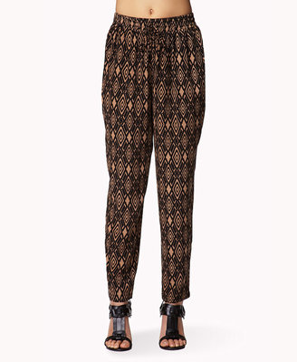 Forever 21 Runaround Tribal-Style Pants