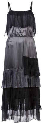 Sophie Theallet Ruffled trim dress