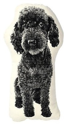 Areaware Poodle Pillow