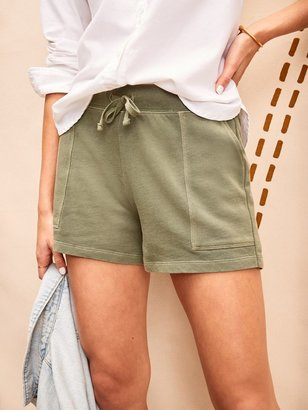 Old Navy Garment-Dyed French Terry Utility Shorts for Women -- 3-inch inseam