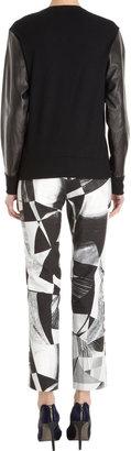 Helmut Lang Combo Sweater