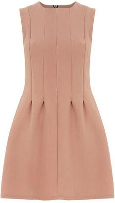 Dorothy Perkins Nude seam waist shift dress
