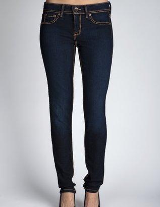 Charlotte Russe Dark Super Stretch Skinny Jeans