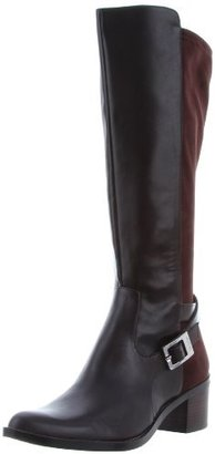 Calvin Klein Women's Herminia Smooth/Microfiber Boot