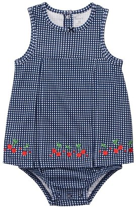 Carter's gingham cherry sunsuit - baby