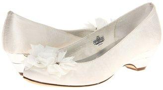 Stuart Weitzman Boa (Youth) (White) - Footwear