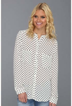 Patterson J. Kincaid Laurel Button Blouse (WEMU) - Apparel