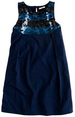 J.Crew Girls' paillette bib dress