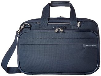 Briggs & Riley Baseline - Expandable Cabin Bag (Navy) Tote Handbags