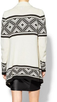 Juicy Couture Sabine Alpine Blanket Sweater