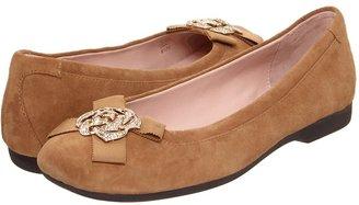 Taryn Rose Bunny (Camel Kid Suede) - Footwear