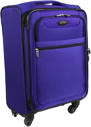 Samsonite L.I.F.T Softside Expandable Spinner 21 Case (Purple) - Bags and Luggage
