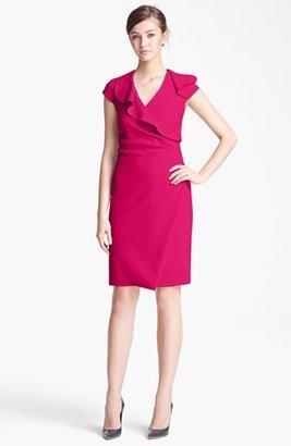 Max Mara 'Eridani' Stretch Wool Dress