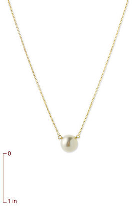 Dogeared Women's Freshwater Pearl Pendant Necklace
