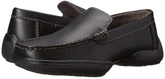 Kenneth Cole Reaction Driving Dime (Little Kid/Big Kid) (Black Leather) Boys Shoes