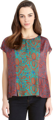 Rachel Roy Mix Print Blouse
