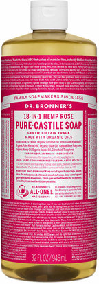 Dr. Bronner's 18-IN-1 Hemp Pure-Castile Soap Organic Rose