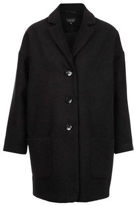 Topshop 'Wilma' Oversized Boyfriend Coat