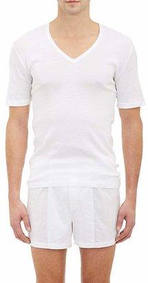 Hanro Men's Pure T-Shirt $70 thestylecure.com