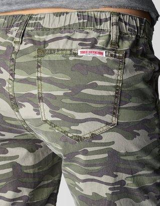 True Religion 5 Pocket Camo Jogger Womens Pant