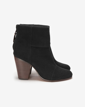 Rag and Bone Rag & Bone Rag & Bone Classic Canvas Newbury Booties: Black