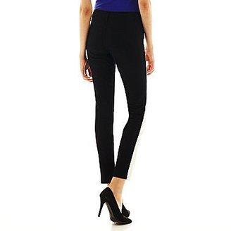 JCPenney Bisou Bisou® Colorblock Skinny Sateen Pants