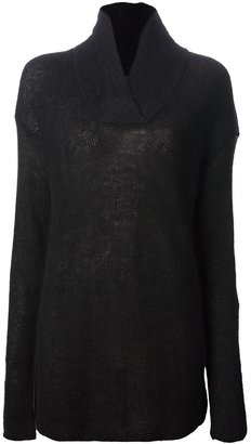 Alexander Wang textured fine knit jumper