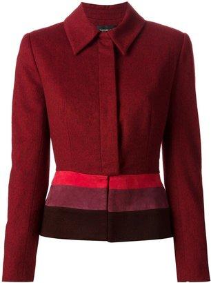 Jean Louis Scherrer Pre Owned colour block jacket