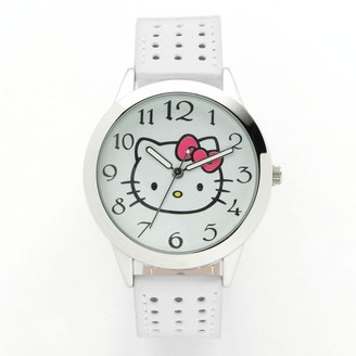 Hello Kitty silver tone watch - juniors