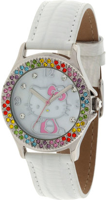 Hello Kitty Multicolor Crystal-Accent Watch $50 thestylecure.com