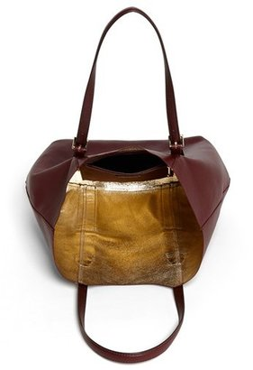 Isaac Mizrahi New York 'Lucille' Leather Tote