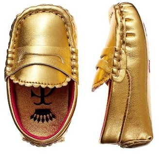 Juicy Couture Metallic Gold Loafer