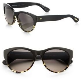 Oliver Peoples Mande Tortoiseshell Cat's-Eye Sunglasses