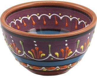 Crate & Barrel Las Ramblas Purple Bowl.