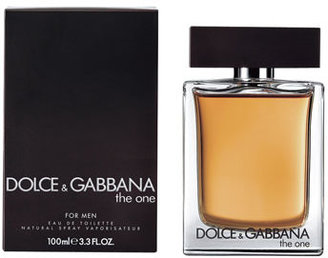 Dolce & Gabbana The One for Men Eau de Toilette, 3.3oz