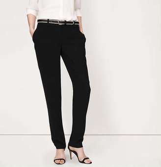 LOFT Petite Vintage Crepe Straight Leg Pants in Marisa Fit