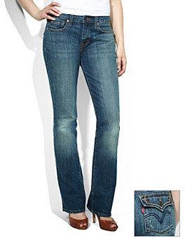 Levi's Levis Misses 515 Bootcut Jean - Vintage Frost