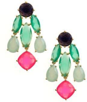 Kate Spade Statement Chandelier Cluster Earrings