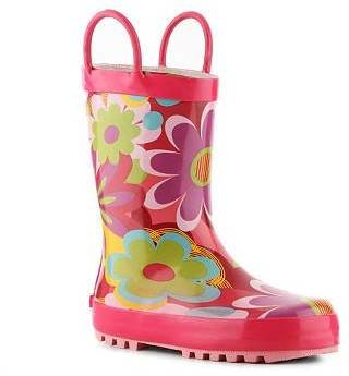 Laura Ashley Darlene Girls Toddler Rain Boot