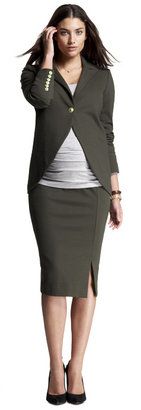 Isabella Oliver Slit Pencil Skirt