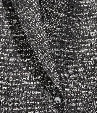 H&M Melange Coat - Black - Ladies