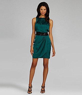Vince Camuto Sleeveless Bead-Waist Dress